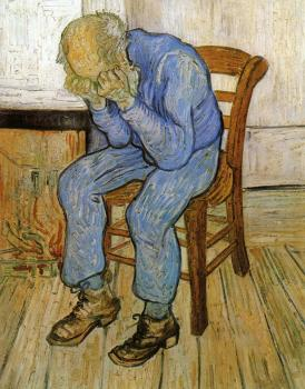 Vincent Van Gogh : Old Man in Sorrow, On the Threshold of Eternity