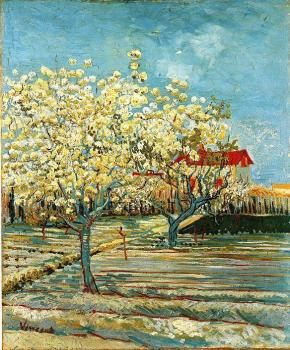 Vincent Van Gogh : Orchard in Blossom II
