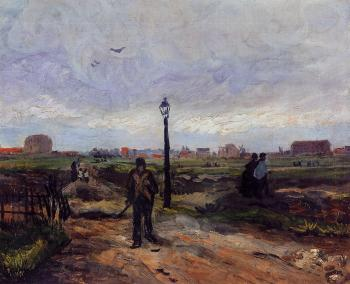 Vincent Van Gogh : Outskirts of Paris