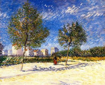 Vincent Van Gogh : Outskirts of Paris II