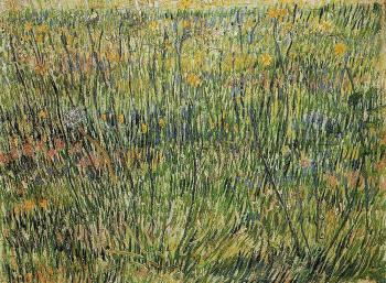 Vincent Van Gogh : Pasture in Bloom II