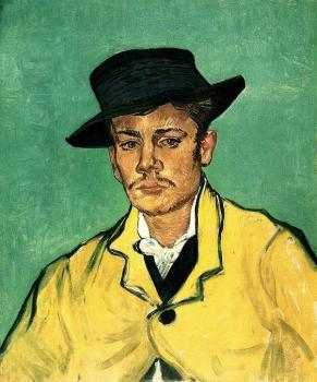 Vincent Van Gogh : Portrait of Armand Roulin III