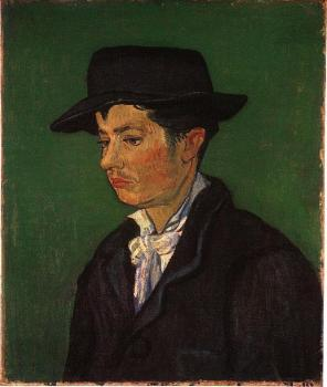 Vincent Van Gogh : Portrait of Armand Roulin IV