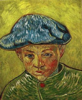 Vincent Van Gogh : Portrait of Camille Roulin