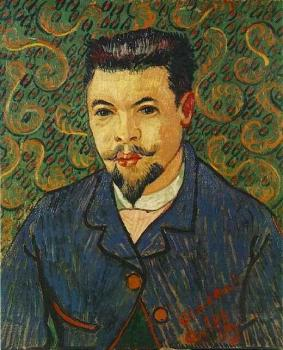 Vincent Van Gogh : Portrait of Doctor Felix Rey