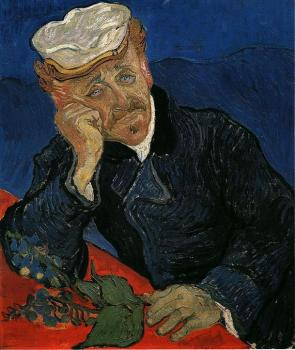 Vincent Van Gogh : Portrait of Doctor Gachet