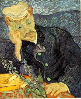 Vincent Van Gogh : Portrait of Doctor Gachet II