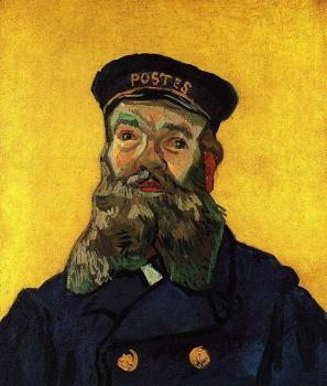 Portrait of the Postman Joseph Roulin IV
