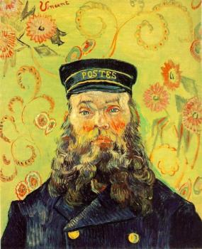 Portrait of the Postman Joseph Roulin V