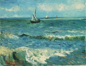 Seascape at Saintes-Maries