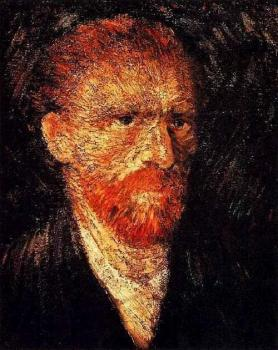 Vincent Van Gogh : Self Portrait XVII