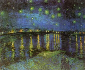 Vincent Van Gogh : Starry Night over the Rhone II