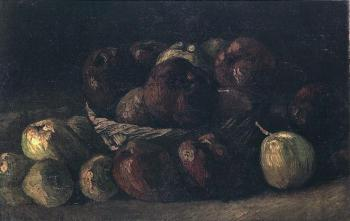 Vincent Van Gogh : Still Life with Basket of Apples