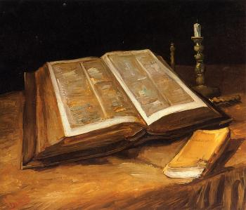 Vincent Van Gogh : Still Life with Bible