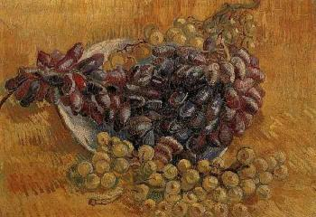 Vincent Van Gogh : Still Life with Grapes