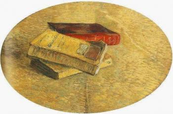 Vincent Van Gogh : Still Life with Three Books