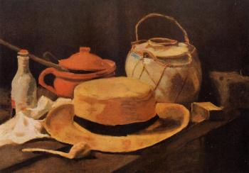 Vincent Van Gogh : Still Life with Yellow Hat