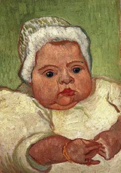 Vincent Van Gogh : The Baby Marcelle Roulin