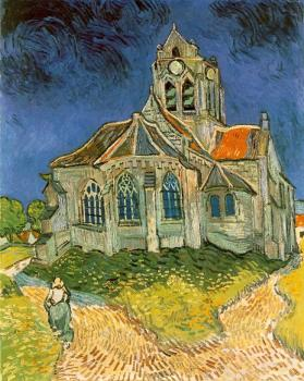 Vincent Van Gogh : The Church at Auvers-sur-Oise II
