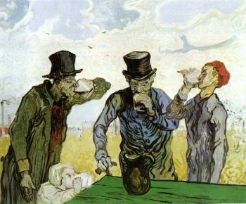 Vincent Van Gogh : The Drinkers