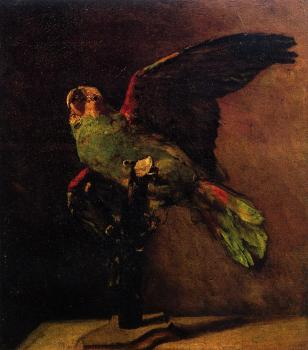 Vincent Van Gogh : The Green Parrot