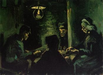 The Potato Eaters, Study