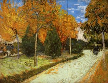 Vincent Van Gogh : The Public Park at Arles