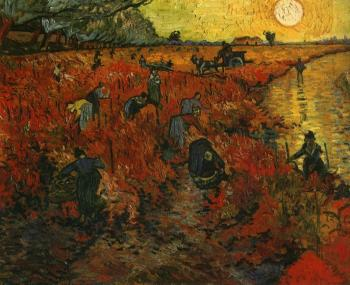 The Red Vineyard II