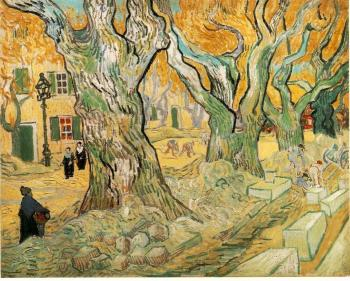 Vincent Van Gogh : The Road Menders