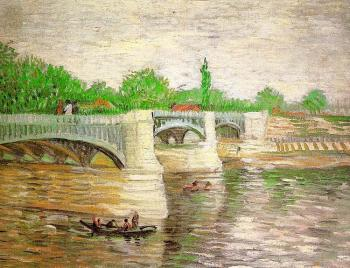 The Seine with the Pont de Clichy