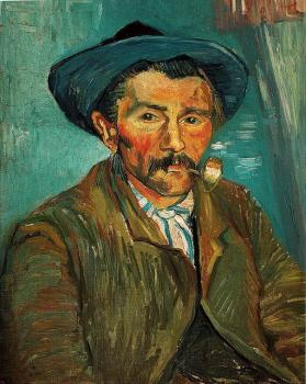Vincent Van Gogh : The Smoker