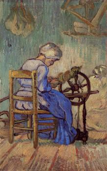 Vincent Van Gogh : The Spinner