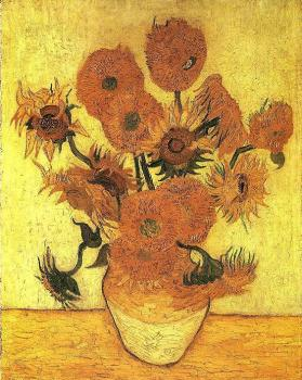Vincent Van Gogh : The Sunflowers III