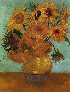 Vincent Van Gogh : The Sunflowers IV