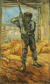 Vincent Van Gogh : The Thresher
