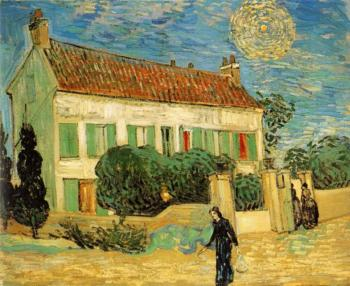 Vincent Van Gogh : The White House at Night
