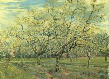 Vincent Van Gogh : The White Orchard