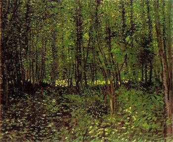 Vincent Van Gogh : Trees and Undergrowth