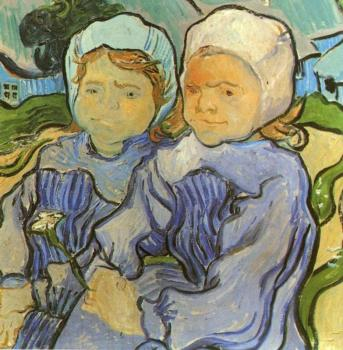 Vincent Van Gogh : Two Children II