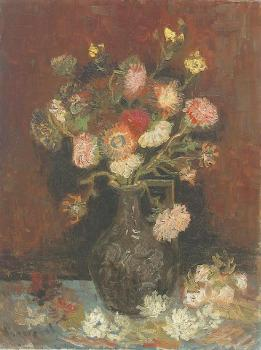 Vincent Van Gogh : Vase with Asters and Phlox II