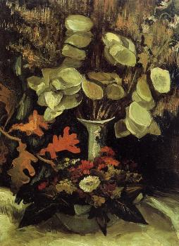 Vincent Van Gogh : Vase with Honesty II