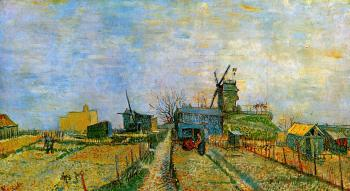 Vincent Van Gogh : Vegetable Gardens in Montmartre III