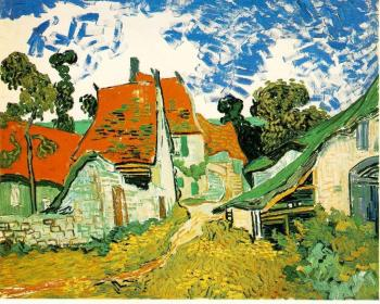 Vincent Van Gogh : Village Street in Auvers
