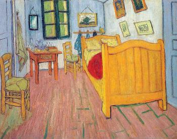 Vincent Van Gogh : Vincent's Bedroom in Arles