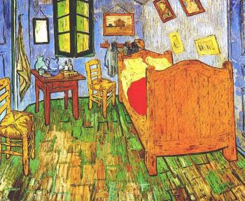 Vincent Van Gogh : Vincent's Bedroom in Arles II