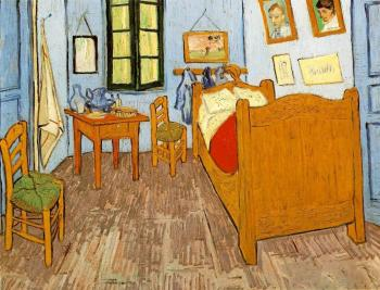Vincent Van Gogh : Vincent's Bedroom in Arles III