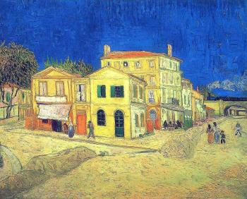Vincent Van Gogh : Vincent's House in Arles, The Yellow House