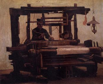 Vincent Van Gogh : Weaver, Seen from the Front