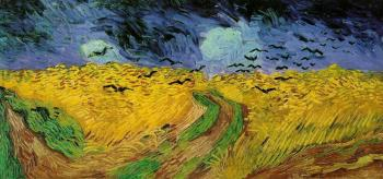 Vincent Van Gogh : Wheat Field with Crows