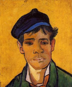 Vincent Van Gogh : Young Man in a Cap